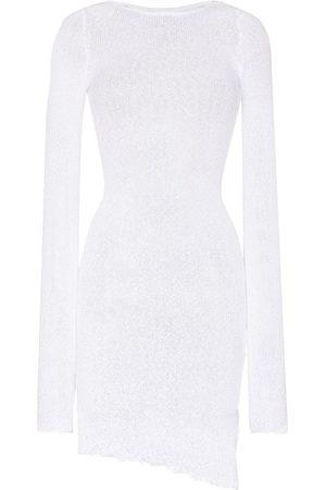Ambra Maddalena Andy sheer cotton midi dress