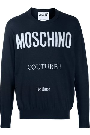 Moschino Suéter con logo estampado