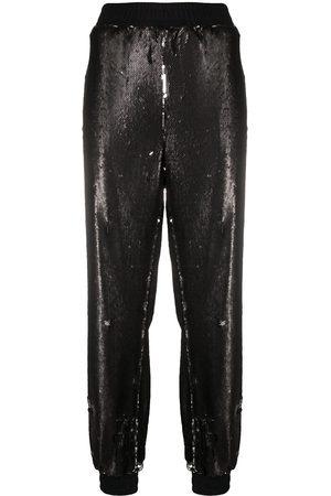 Styland Pants bordado con lentejuelas