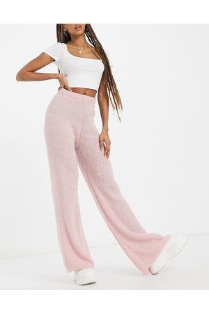 I saw it first Knitted trousers in pink