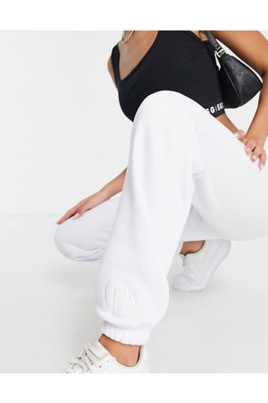 The O Dolls Collection ODolls Collection logo jogger in white
