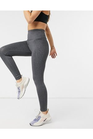 Reebok Lux 2.0 high rise tights in dark grey