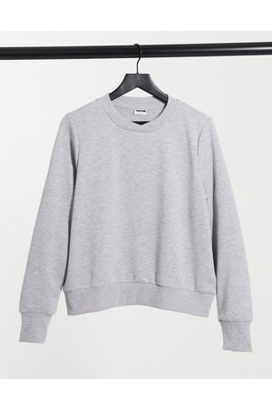 Noisy May Sweatshirt in grey