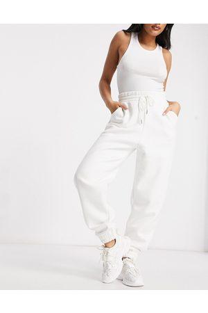 ASOS Hourglass super oversized jogger in winter white