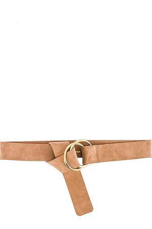 B-Low The Belt Cinturón tumble en color bronce talla M/L en - Tan. Talla M/L (también en S/M).