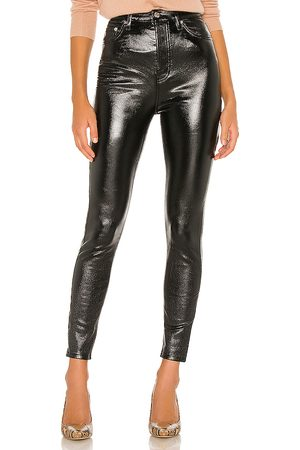 Free People Phoenix coated skinny jean en color negro talla 25 en - Black. Talla 25 (también en 29, 30, 27, 31).