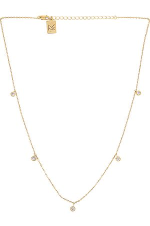 MIRANDA FRYE Collar shea en color oro metálico talla all en - Metallic Gold. Talla all.