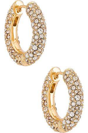 Baublebar Pendientes carina en color oro metálico talla all en - Metallic Gold. Talla all.