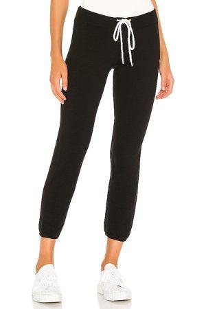 MONROW Pantalón deportivo supersoft vintage en color talla L en - Black. Talla L (también en XS, S, M).