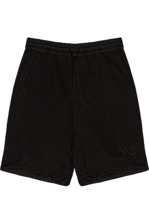 Y-3 Terry shorts en color talla L en - Black. Talla L (también en S, M, XL).