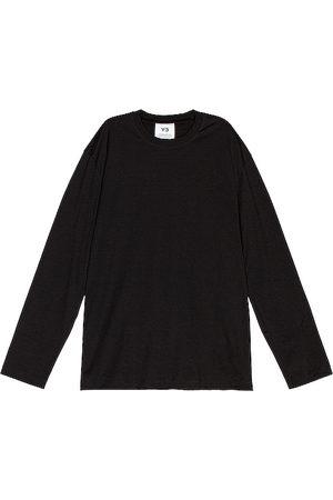 Y-3 Camiseta en color talla L en - Black. Talla L (también en XL, M, S).