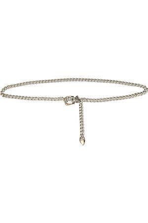 8 Other Reasons Mujer Cinturones - Cinturón saddle up en color metálico talla all en - Metallic Silver. Talla all.