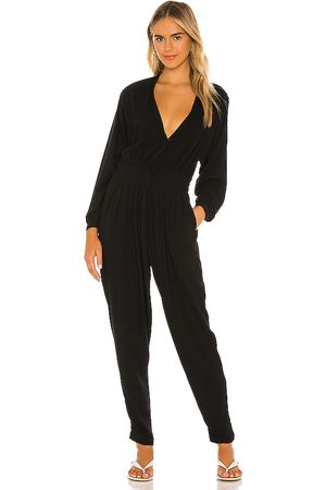 Indah Gianyar pleated jumpsuit en color talla L en - Black. Talla L (también en XS, S, M).