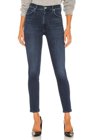 Citizens of Humanity Chrissy high rise skinny en color azul talla 23 en - Blue. Talla 23 (también en 24, 25, 26, 27, 28, 2