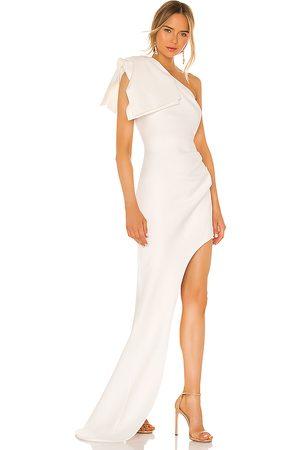 Bronx and Banco Vestido largo stella en color talla L en - White. Talla L (también en M).