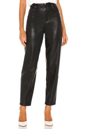 WeWoreWhat Pantalón dani en color talla 24 en - Black. Talla 24 (también en 25, 26, 29).
