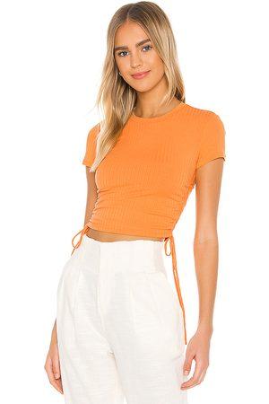 Lovers + Friends Camiseta divine en color talla M en - Orange. Talla M (también en XXS, XS, S).