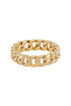 MIRANDA FRYE Mujer Anillos - Anillo rowen en color oro metálico talla 5 en - Metallic Gold. Talla 5 (también en 6, 7, 8).