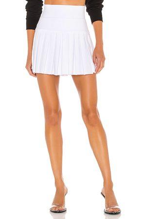 Norma Kamali Falda en color blanco talla L en - White. Talla L (también en XS, S, M).