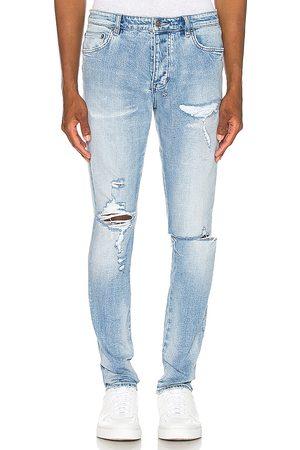 KSUBI Chitch punk blue thrashed jean en color light talla 30 en - Light. Talla 30 (también en 31, 32, 34, 36).