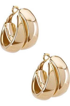 8 Other Reasons Aros coupled en color oro metálico talla all en - Metallic Gold. Talla all.