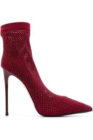 LE SILLA Zapatillas estilo calcetín con tacón stiletto