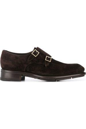 santoni Zapatos monk con hebilla doble