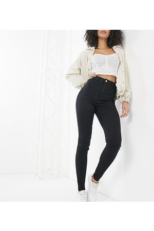 Missguided Vice skinny jean with belt loops in black