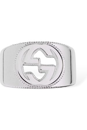 """Gucci Anillo """"interlocking G"""" De"""