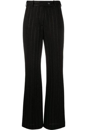 Missoni Pantalones con estampado a rayas metalizadas