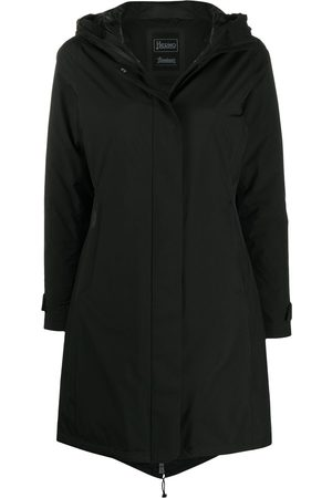 HERNO Mujer Gabardinas - Abrigo capitonado con capucha
