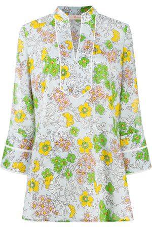 Tory Burch Vestido corto con estampado floral