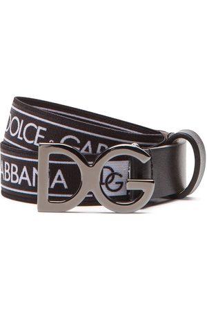 Dolce & Gabbana Logo-print belt