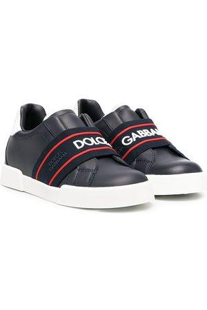 Dolce & Gabbana Tenis con correa elástica