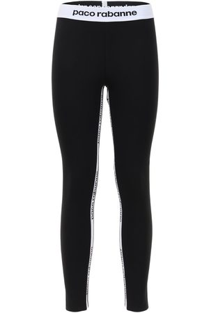 Paco rabanne Leggings Stretch Con Logo
