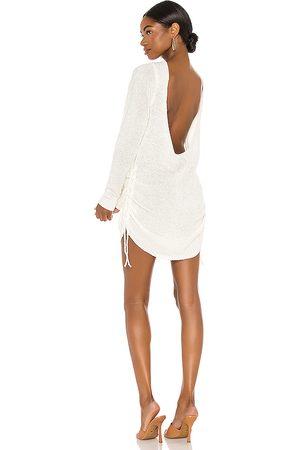 SNDYS Mujer Cortos - Minivestido turn back time en color crema talla M en - Cream. Talla M (también en XL).