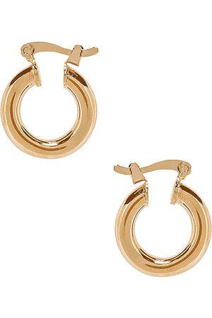 The M Jewelers Aros ravello en color oro metálico talla all en - Metallic Gold. Talla all.