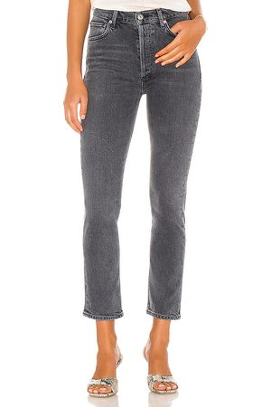 Citizens of Humanity Pierna recta charlotte en color charcoal talla 24 en - Charcoal. Talla 24 (también en 26, 28, 31).