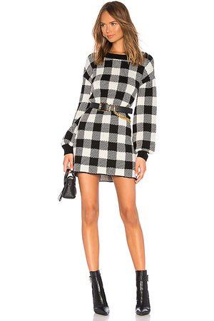 LPA Mujer Suéteres - Vestido jersey floyd en color black & white talla L en - Black & White. Talla L (también en M, S, XS).