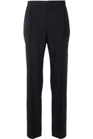Armani Pressed crease straight trousers