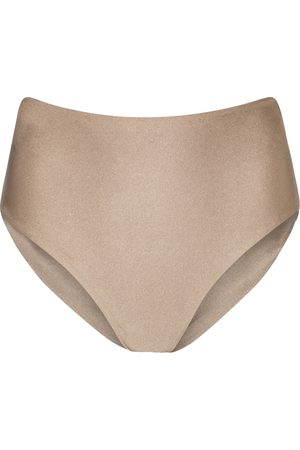 Jade Swim Bound high-rise bikini bottoms