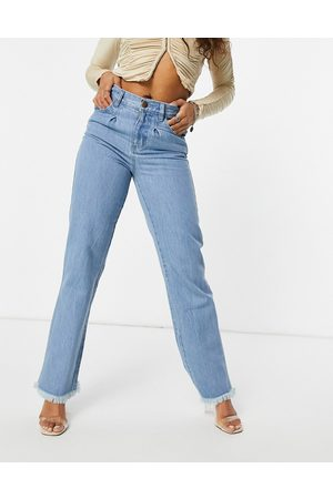 Femme Luxe Baggy jean in washed blue