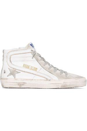 Golden Goose Mujer Tenis - White Slide high top sneakers