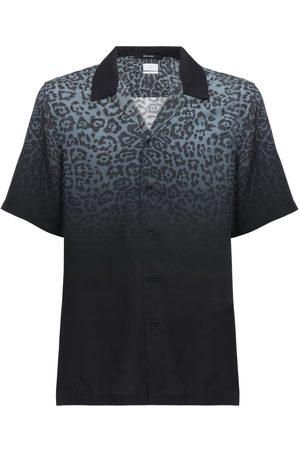 KSUBI Camisa De Rayón Estampada