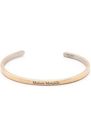 Maison Margiela Mujer Pulseras - Pulsera con logo grabado