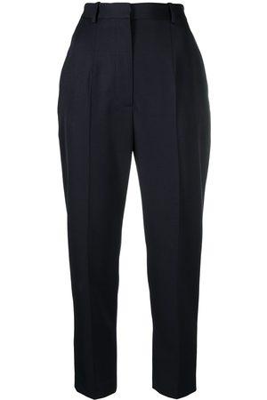 Alexander McQueen Mujer Pantalones y Leggings - Pantalones pitillo de talle alto