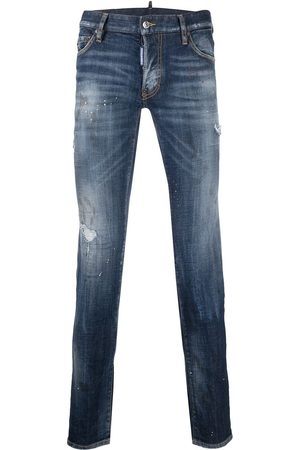 Dsquared2 Hombre Skinny - Bros patch distressed jeans