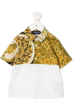 VERSACE Camisas - Two-tone shirt