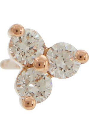 Maria Tash Mujer Aretes - Trinity Large 14kt rose gold single earring with diamonds