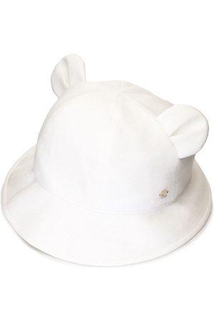 Familiar Sombrero tejido con orejas de osito